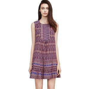 BCBG Yulissa Mosaic Print Dress